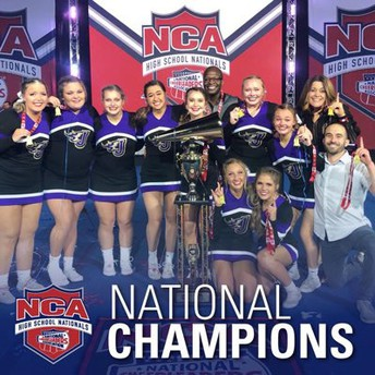 JHS Cheer Brings Home Nat'l Title