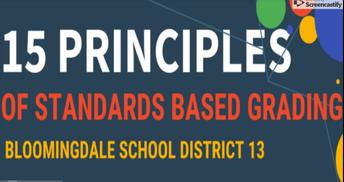 Standards Based Parent Presentation Video