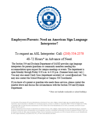 Need an ASL Interpreter?