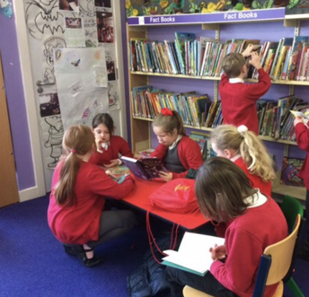 A visit to Sherburn Library for Y3!