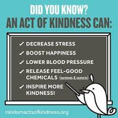 Create a Random Acts of Kindness challenge for a week or a month