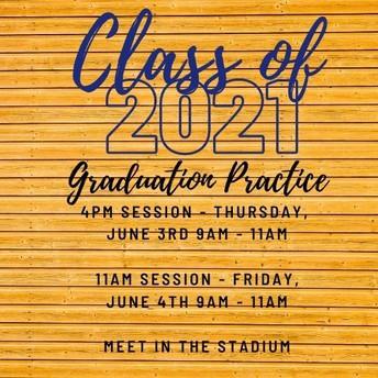 Graduation Ceremony Practice