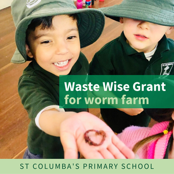Waste Wise Grant Received for Worm Farm