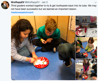 Mrs. Rapp's Class Uses Toothpaste to Learn an Important Lesson
