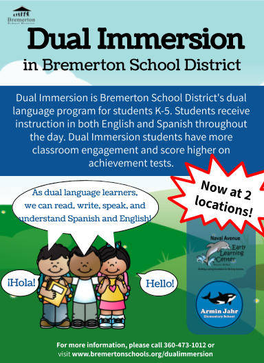 www.BremertonSchools.org/dualimmersion
