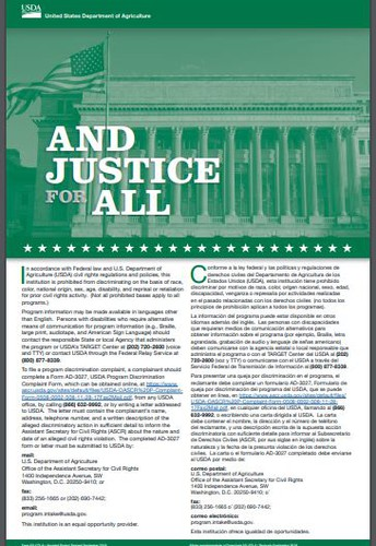 "Notification of New ""And Justice for All"" (AJFA) Posters"