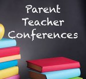 Parent Teacher Interviews 4:30-7:30  Wednesday, December 7th