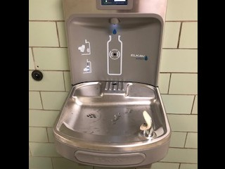 Surprise! New Drinking Fountains!!