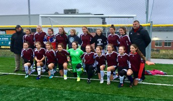 MDJH Girls soccer team