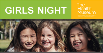 FREE! Girls Night at the Health Museum: 2nd-5th Grade Girls