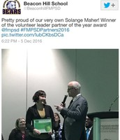 Solange Maher: Volunteer Winner
