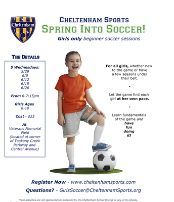 Spring into Soccer | Girls Only