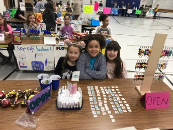 The students developed great products.