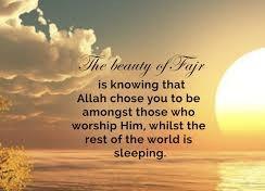 Let's Pray Fajr Together! Mark October 25th on your calendar.