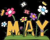 May - Happy Spring!