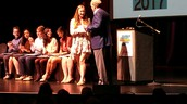 Phoebe Accepts Health Sciences Award