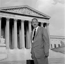 Thurgood Marshall sworn in