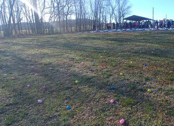 Our Egg Hunt is going to look a little different this year.