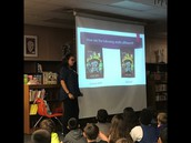 Ms. Lopez talks about the process of creating a book