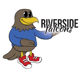 Riverside Falcon Mascot
