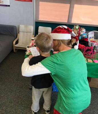 Students Received Help Choosing Gifts