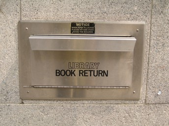 Returning Talley Street Library Books