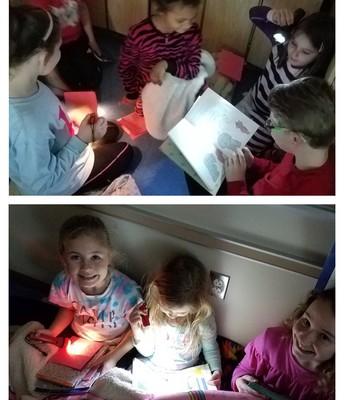 Flashlight Buddy Reading