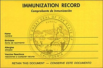 Information on Updating Immunization Records