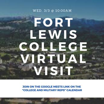 Fort Lewis College Virtual Visit