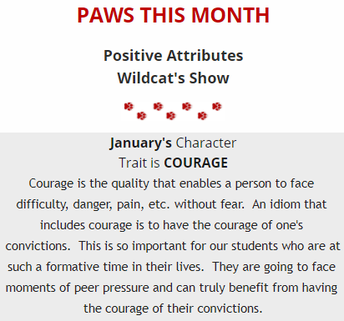 PAWS of the Month: Courage