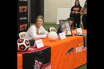 Meghan Haan Signed at South Dakota State University - Volleyball