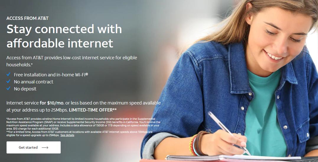 Affordable Internet for Parents