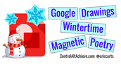 Wintertime Magnetic Poetry w/Google Drawings