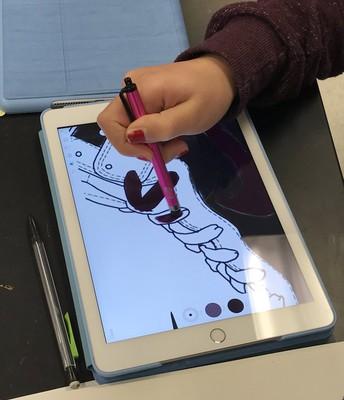 I-Pads for Digital Art