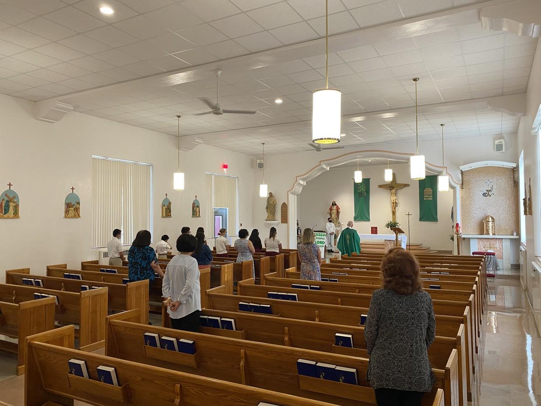 September 2nd Mass