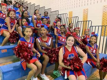 Carver MS Cheerleaders Rock!