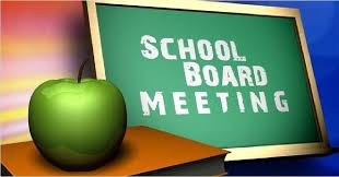 School Board Meeting Rescheduled