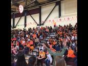 Orange Team has spirit!