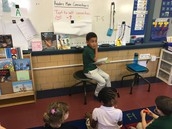 Simon sharing his text-to-self connection