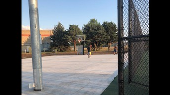 Update on the Tennis / Basketball Courts