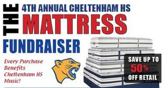 Fourth Annual CHS Mattress Fundraiser