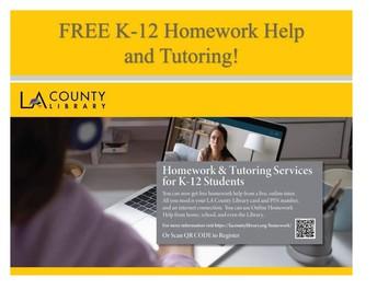 Free Tutoring K-12