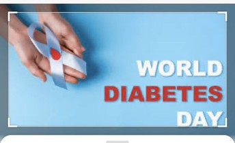 Nov 14th  -  World Diabetes Day