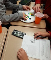 Using M&Ms to learn about exponential decay