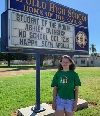 Our September Student of the Month