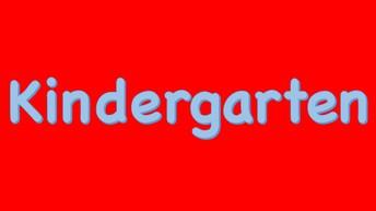 Kindergarten News: