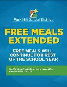 FREE School Breakfast and Lunch -