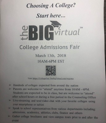 Virtual College Fair  150+ Colleges In Attendance