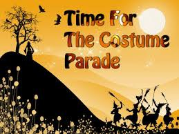 Halloween Parade Information- * NEW PARADE TIME & ROUTE