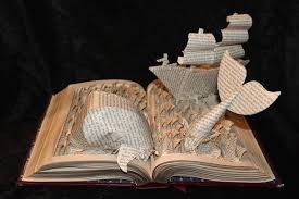 Upcycled Book Art